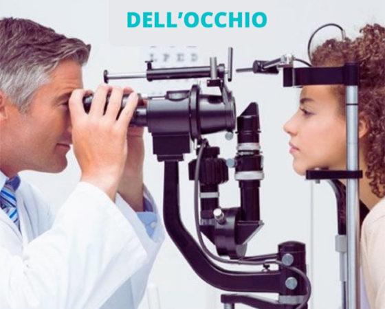 Prevenzione patologie dell'occhio
