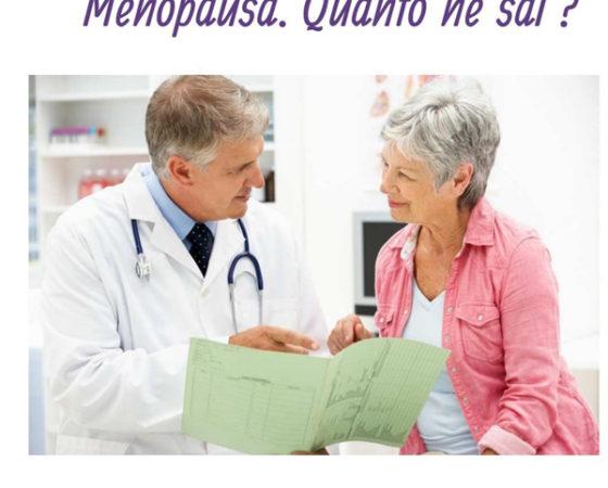 Menopausa. Quanto ne sai?
